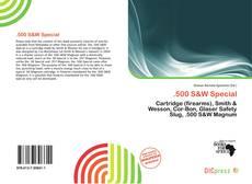 Обложка .500 S&W Special