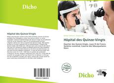 Bookcover of Hôpital des Quinze-Vingts
