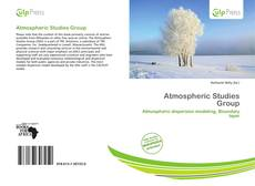 Bookcover of Atmospheric Studies Group