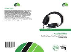 Capa do livro de Akshai Sarin
