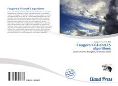 Portada del libro de Faugère's F4 and F5 algorithms