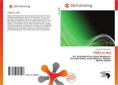 Bookcover of 1992 in Art