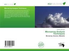 Обложка Microarray Analysis Techniques