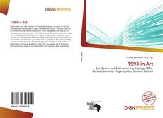 Bookcover of 1993 in Art