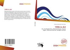 Bookcover of 1996 in Art