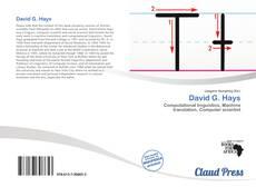 David G. Hays的封面