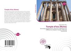 Bookcover of Temple d'Isis (Rome)