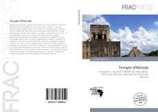 Обложка Temple d'Hérode