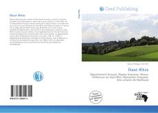 Portada del libro de Haut-Rhin
