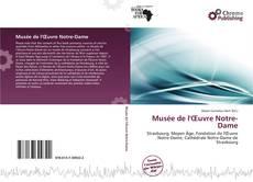Bookcover of Musée de l'Œuvre Notre-Dame