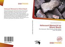 Portada del libro de Holocaust Memorial on Miami Beach