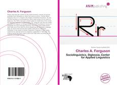 Bookcover of Charles A. Ferguson