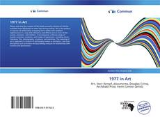 Bookcover of 1977 in Art
