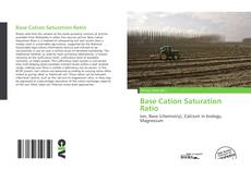 Bookcover of Base Cation Saturation Ratio