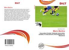 Marc Bartra kitap kapağı
