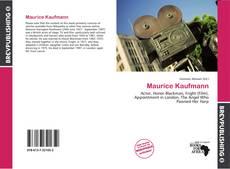 Maurice Kaufmann的封面