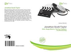 Capa do livro de Jonathan Scott-Taylor