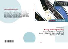 Bookcover of Harry Melling (Actor)