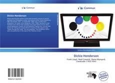 Dickie Henderson kitap kapağı