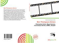 Ben Thompson (Actor)的封面