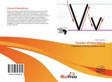Buchcover von Center Embedding