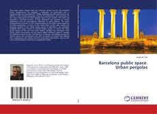 Portada del libro de Barcelona public space. Urban pergolas