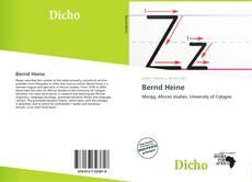 Portada del libro de Bernd Heine