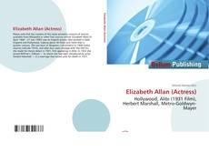 Capa do livro de Elizabeth Allan (Actress)