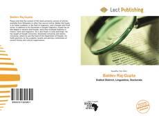 Bookcover of Baldev Raj Gupta