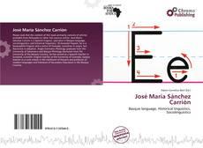 Bookcover of José María Sánchez Carrión