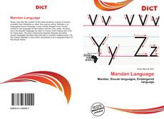 Bookcover of Mandan Language