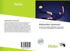 Portada del libro de Aleksandar Jovanović