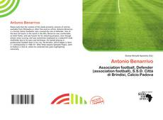 Bookcover of Antonio Benarrivo