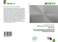 Bookcover of Museum of Fine Arts, Rheims