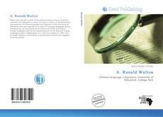 Bookcover of A. Ronald Walton
