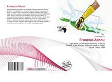 Обложка François Zahoui