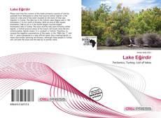 Capa do livro de Lake Eğirdir