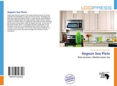 Bookcover of Aegean Sea Plate