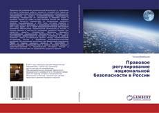 Правовое регулирование национальной безопасности в России的封面