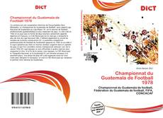 Bookcover of Championnat du Guatemala de Football 1978