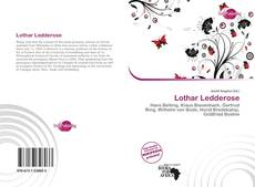 Bookcover of Lothar Ledderose