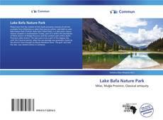 Lake Bafa Nature Park kitap kapağı
