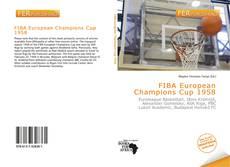 Bookcover of FIBA European Champions Cup 1958