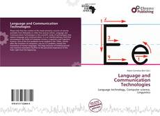Capa do livro de Language and Communication Technologies