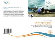 Capa do livro de History of Unmanned Combat Air Vehicles