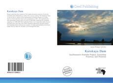 Bookcover of Karakaya Dam