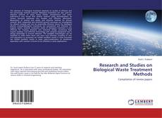 Copertina di Research and Studies on Biological Waste Treatment Methods