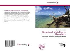 Capa do livro de Behavioral Modeling in Hydrology