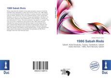 Buchcover von 1986 Sabah Riots
