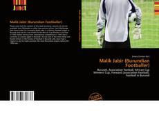 Malik Jabir (Burundian Footballer) kitap kapağı